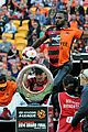 Derulo-soccer jason derulo jumps around at the australian football a league grand final11