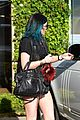 Kendall-cannes kendall jenner arrives cannes kylie touches up blue hair 15