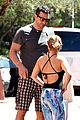 Hayden-baby hayden panettiere flashes totally bare baby bump on vacation 03