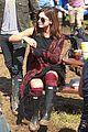 Jenna-lily jenna coleman richard madden lily james more glastonbury 09