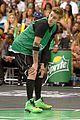Justin-basket justin bieber chris brown bet celeb basketball game 16