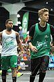 Justin-basket justin bieber chris brown bet celeb basketball game 35