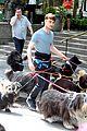 Dan-dog daniel radcliffe dog walker trainwreck nyc set 22