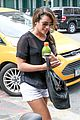 Lea-nyc lea michele matthew paetz nyc after italy vacation 01