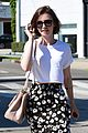 Lily-salon lily collins salon stop before holiday 17