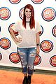 Greer-busters greer grammer shenae grimes more dave busters opening 03