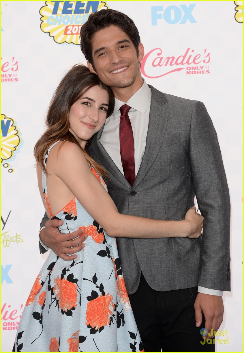 Tyler Posey and his ex fiance Seana Gorlick
