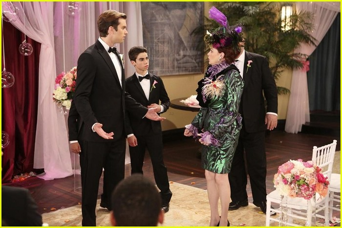 debby ryan kevin chamberlin jessie wedding stills 02