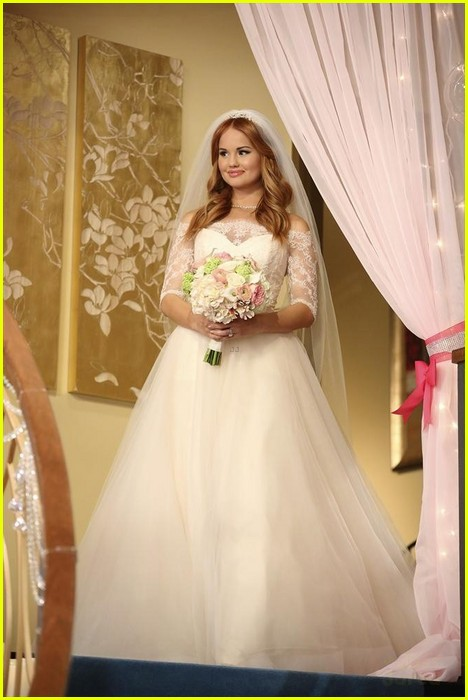 debby ryan kevin chamberlin jessie wedding stills 17
