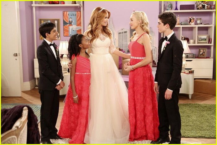 debby ryan kevin chamberlin jessie wedding stills 20