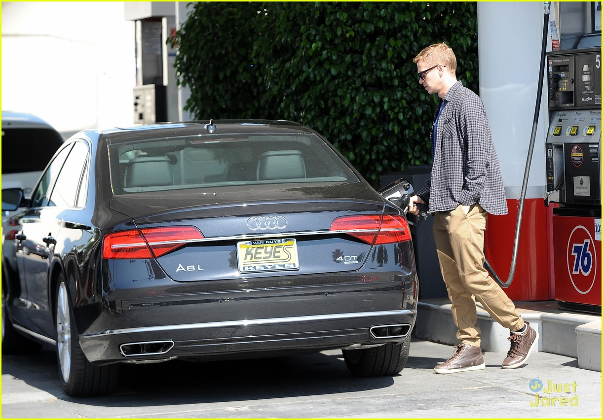 photo of Hayden Christensen Audi - car