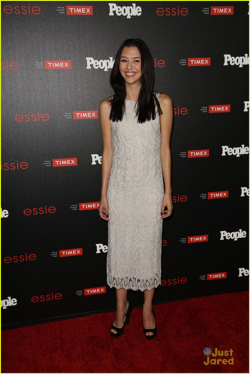 Katie Findlay & Aja Naomi King Step Out For People Mag Party After 'how To