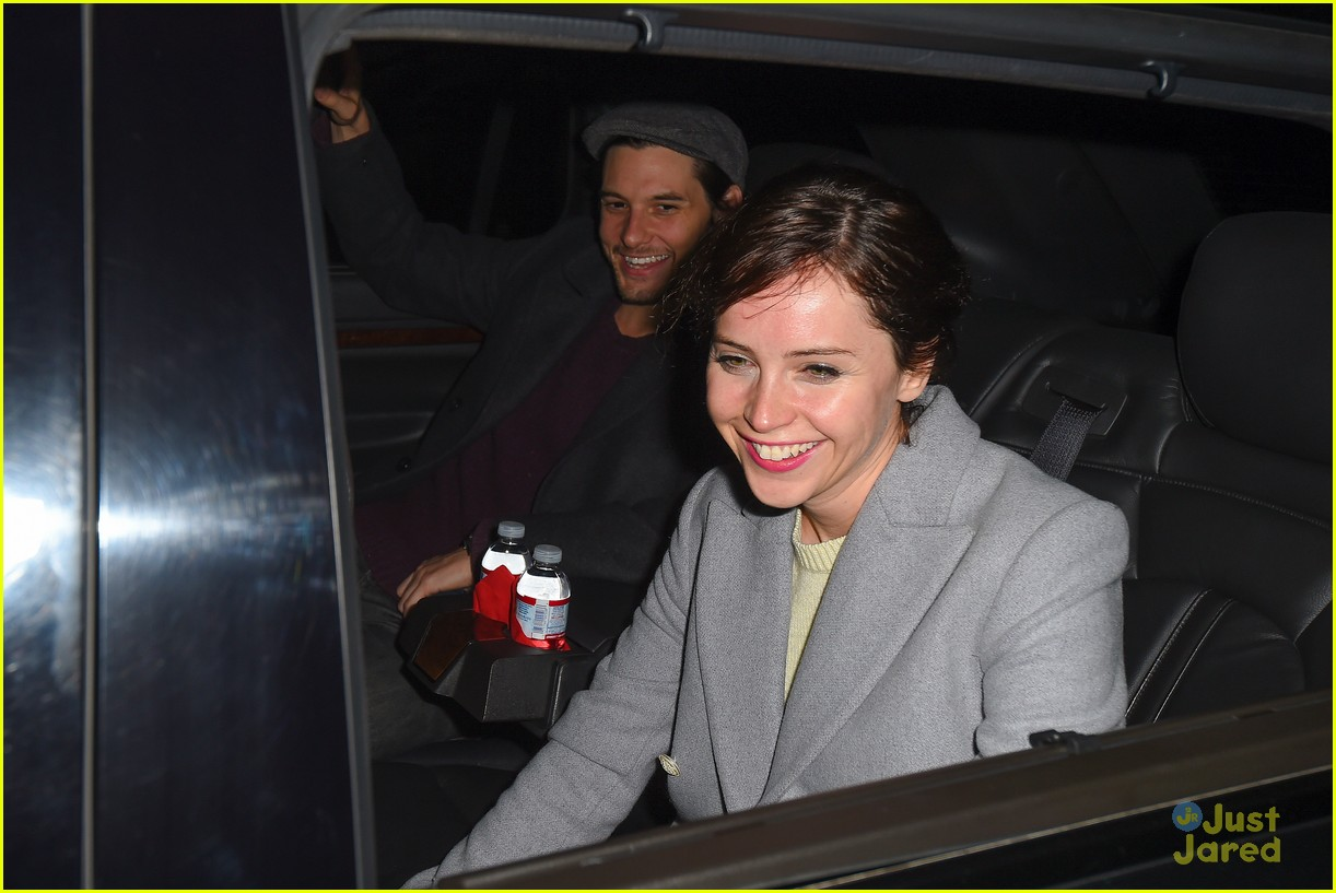 photo of Felicity Jones  - car