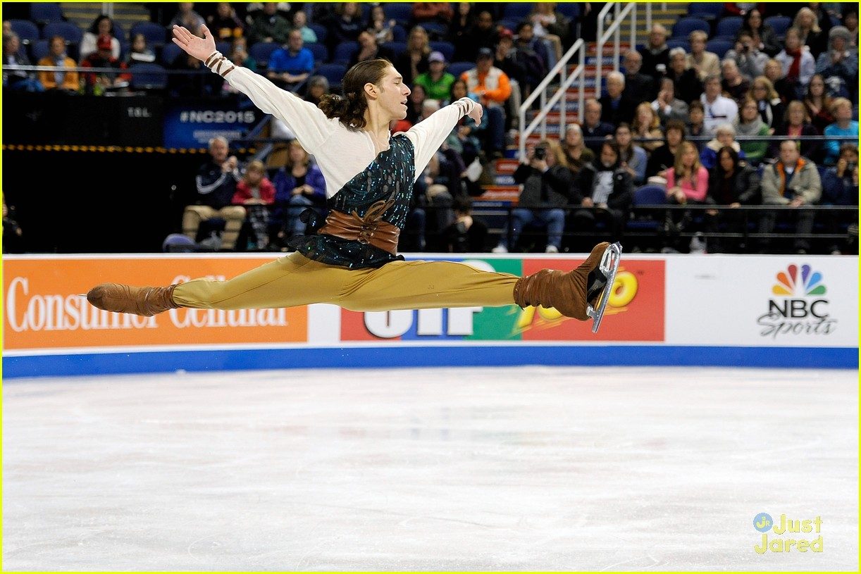 adam rippon felt like a champion after grabbing silver medal at adam rippon josh farris more mens skate 17