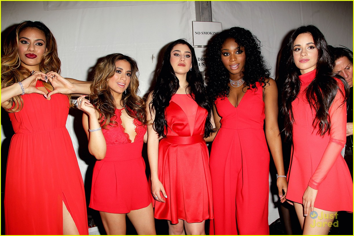 Fifth Harmony Go Red For New York Fashion Week - See Their Runway Pics! | Photo 774819 - Photo ...