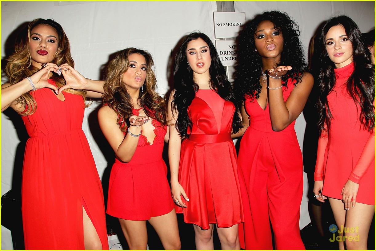 Fifth Harmony Go Red For New York Fashion Week - See Their Runway Pics! | Photo 774834 - Photo ...