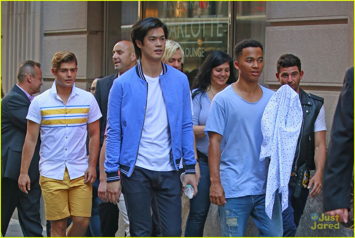 ross lynch ross butler squad goals tb2 nyc 04