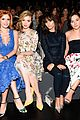 Bella-monique bella thorne skyler samuels jamie chung monique lhuiller show nyfw 04