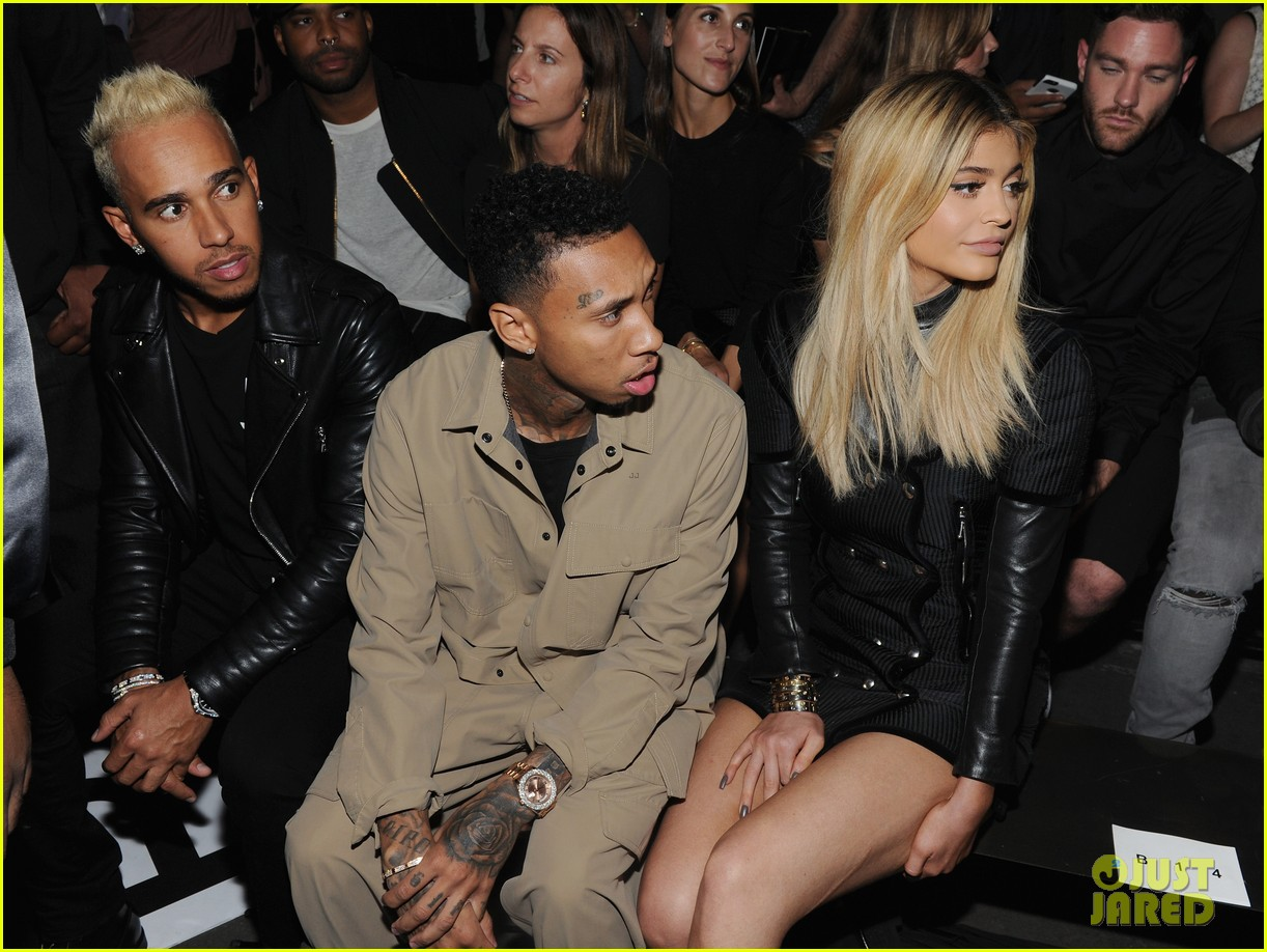 Kylie Jenner Sits Front Row at Alexander Wang Presentation ...
