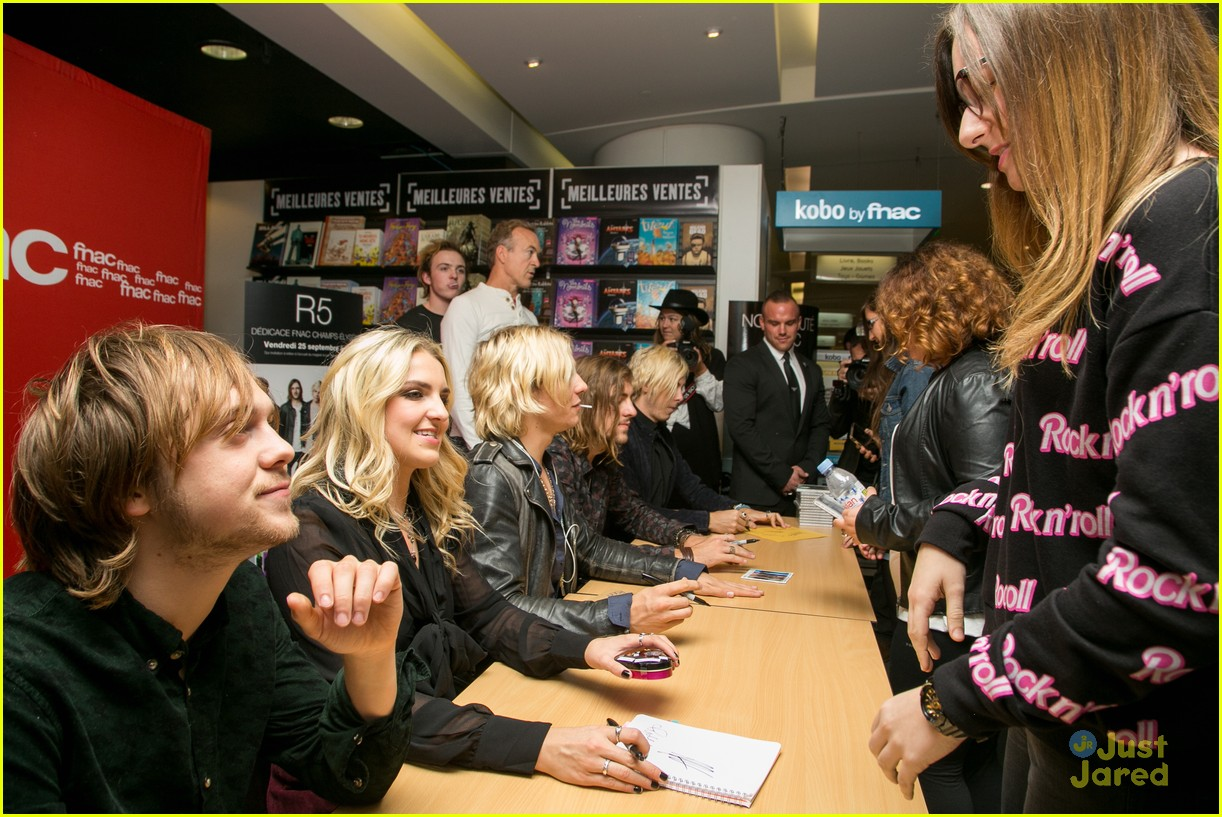 r5 meet greet sometime last night tour paris 09