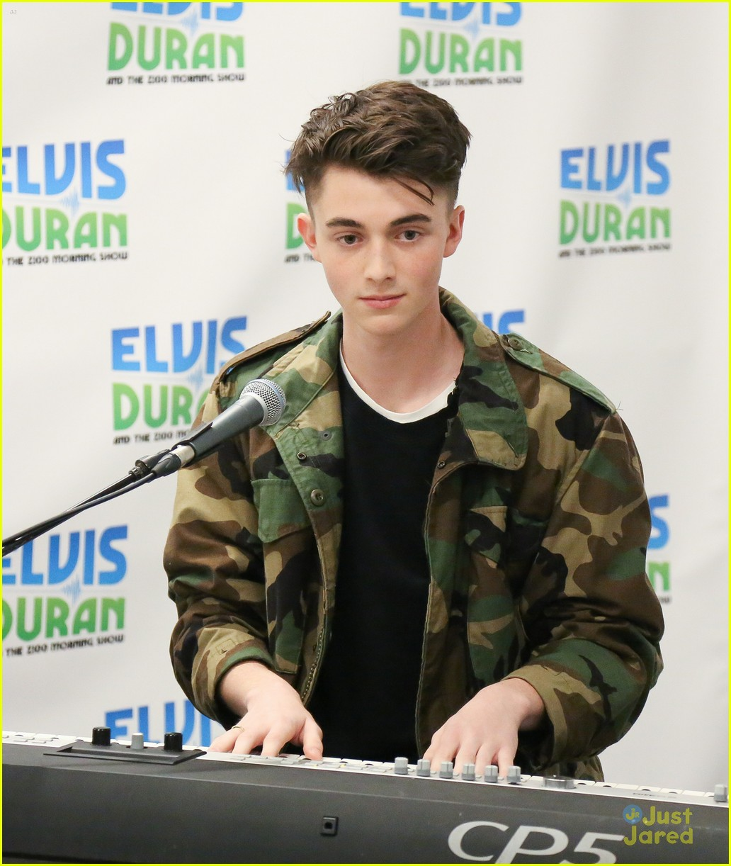 greyson chance elvis duran show oceans collaboration 11