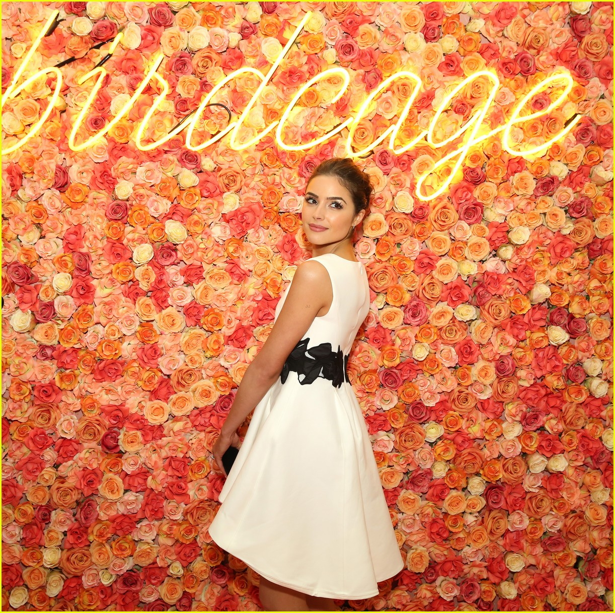 olivia culpo elle winter birdcage event lord taylor nyc 12
