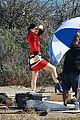 Jenner-visit2 kylie jenner gets a visit on set from caitlyn jenner 21