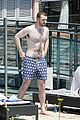 Smith-vacation sam smith shows off his slimmed down figure while on vacation00606