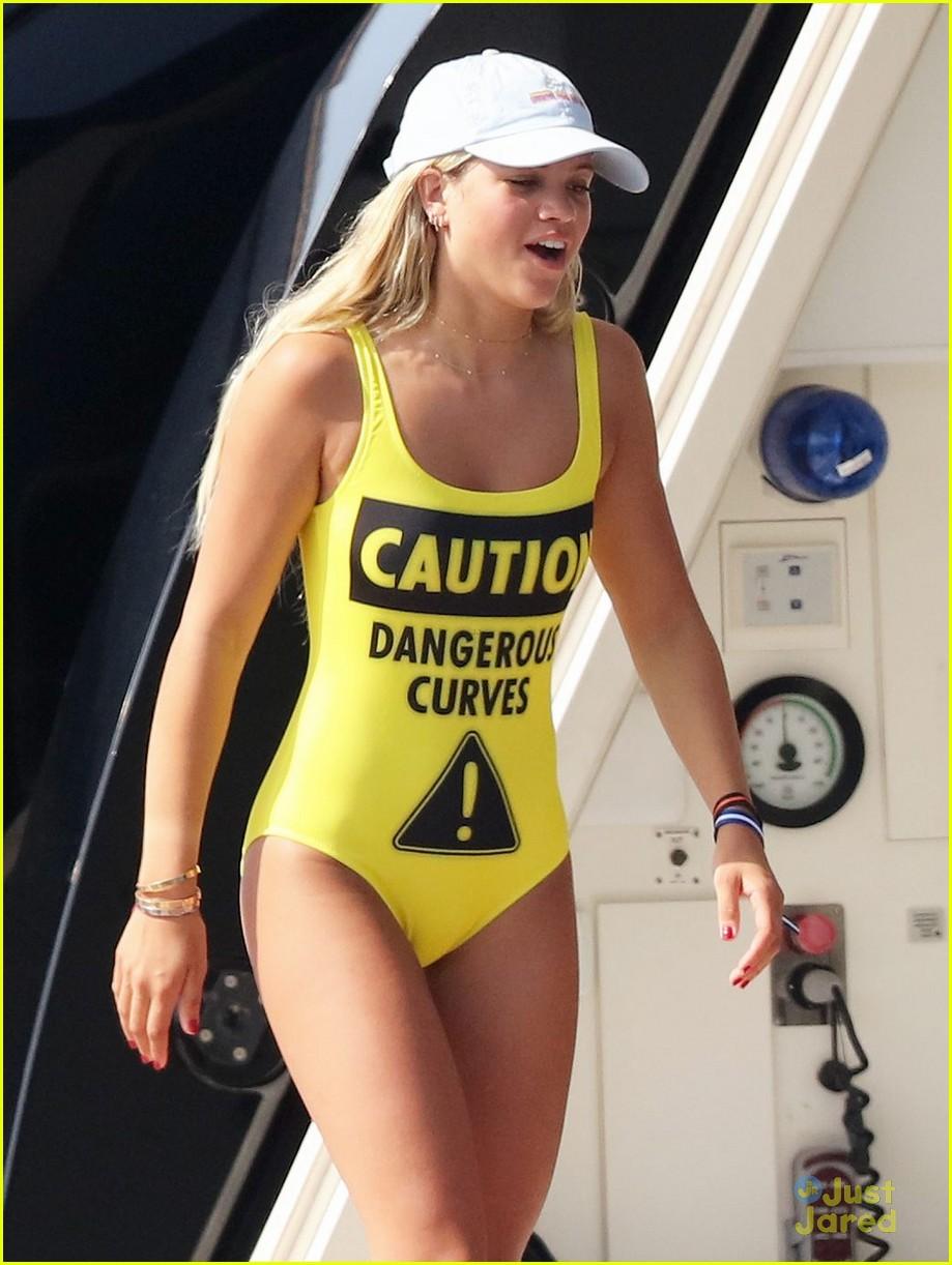 Sofia Richie Takes A Swim After Attending Leonardo DiCaprio's Saint ...