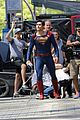 Tyler-save tyler hoechlin saves day on supergirl as superman filming 02