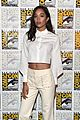 Zendaya-comic zendaya tom holland spiderman cast comic con 03