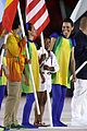 Biles-flagg simone biles carries flag at olympics closing ceremony 2016 07