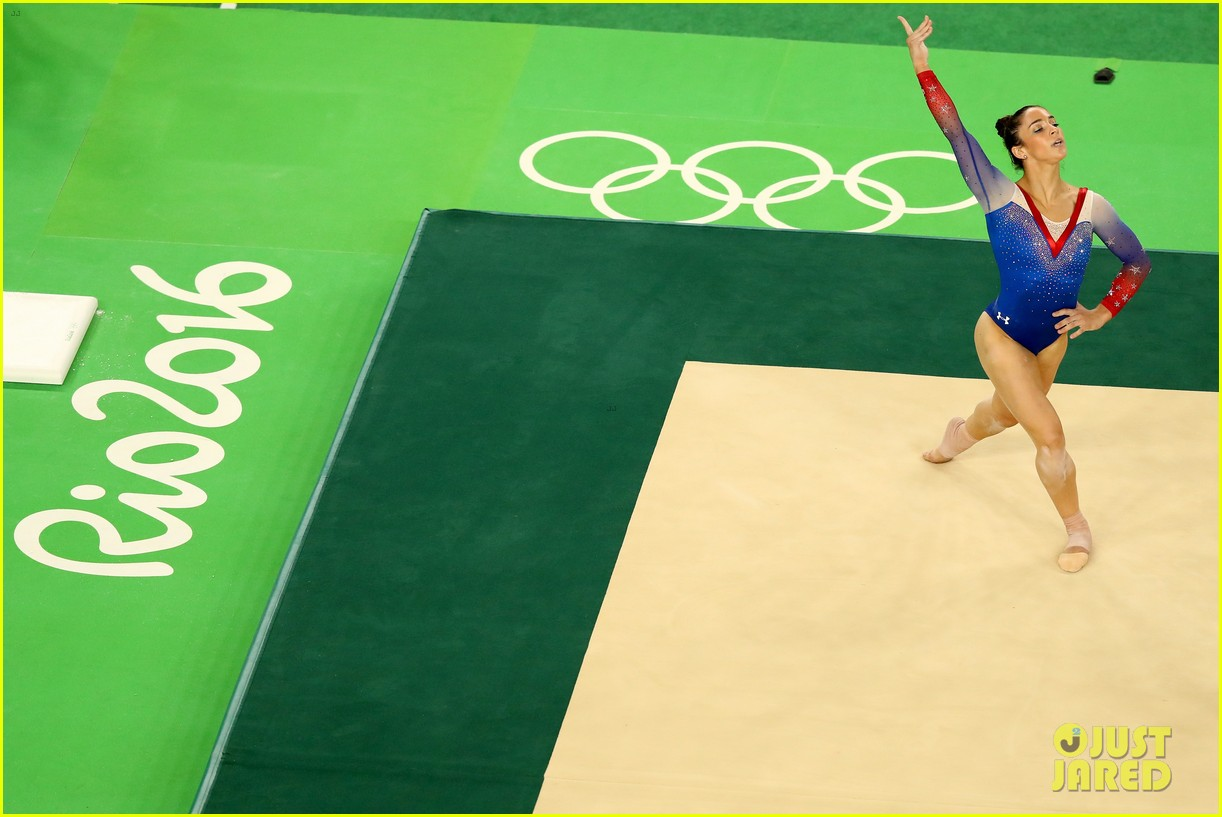 Simone biles aly raisman 39 s final floor exercise videos for Floor gymnastics