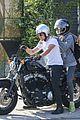 Josh-motorcycle josh hutcherson girlfriend claudia traisac ride around on his motorcycle03016mytext