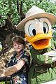 Oakes-donald oakes fegley donald duck disney world visit 01