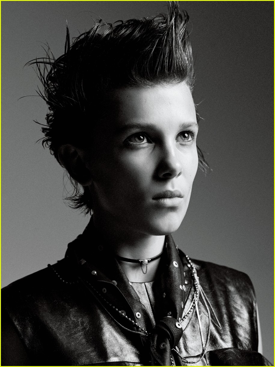 millie bobby brown covers interview magazine 05