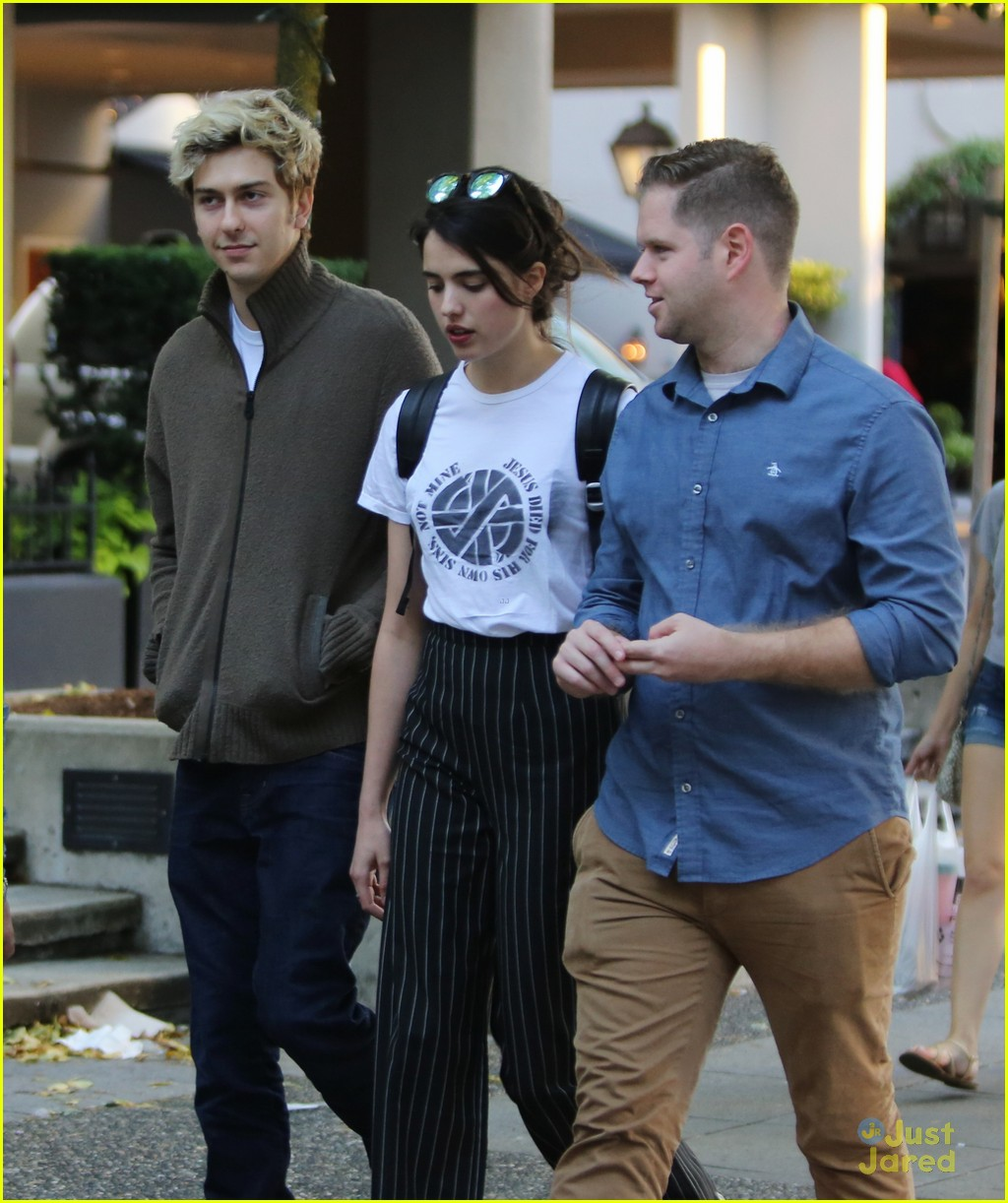 Full Sized Photo Of Nat Wolff Blond Hair Margaret Qualley