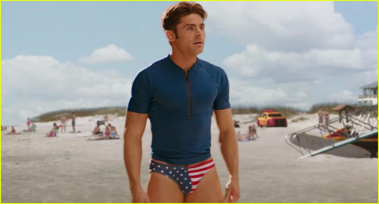 zac efron speedo baywatch super bowl commercial 05