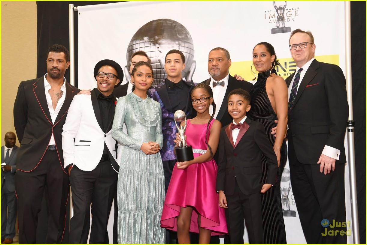 yara shahidi chloe halle serayah naacp image awards 20