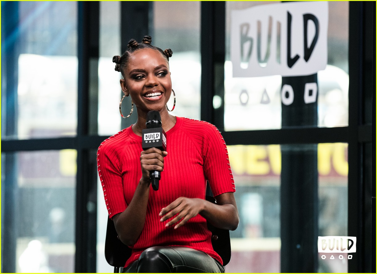ashleigh murray aol studios nyc 19