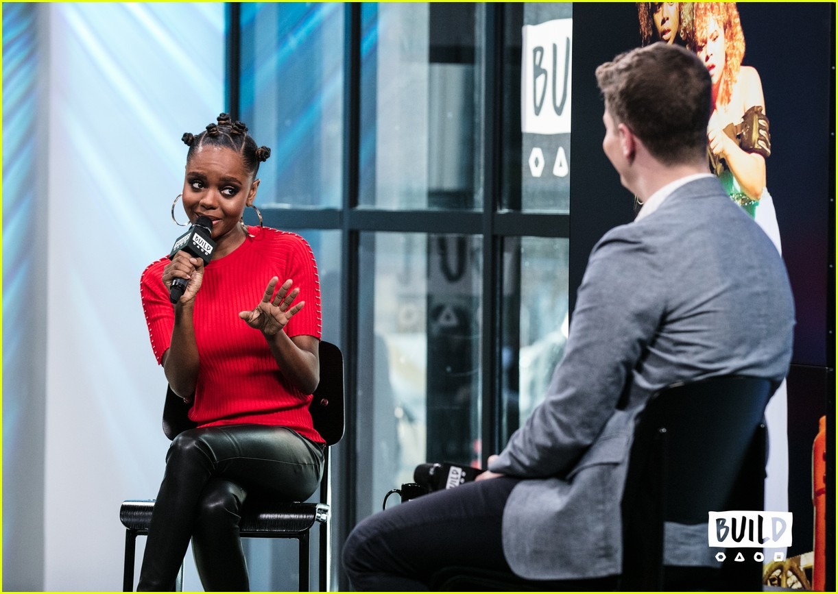 ashleigh murray aol studios nyc 22
