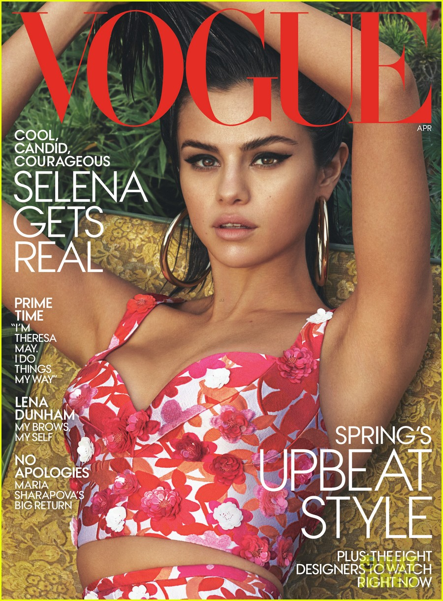 selena gomez tells vogue her self esteem was shot before taking time off 01