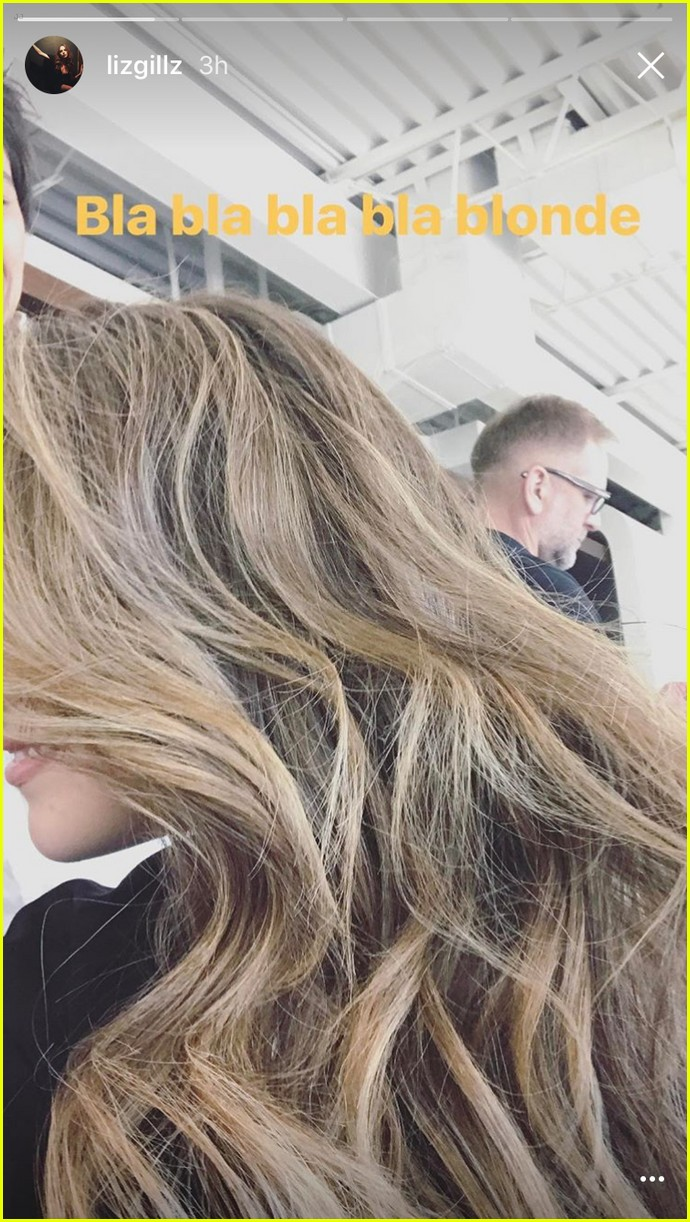 elizabeth gillies new hair color for dynasty 01