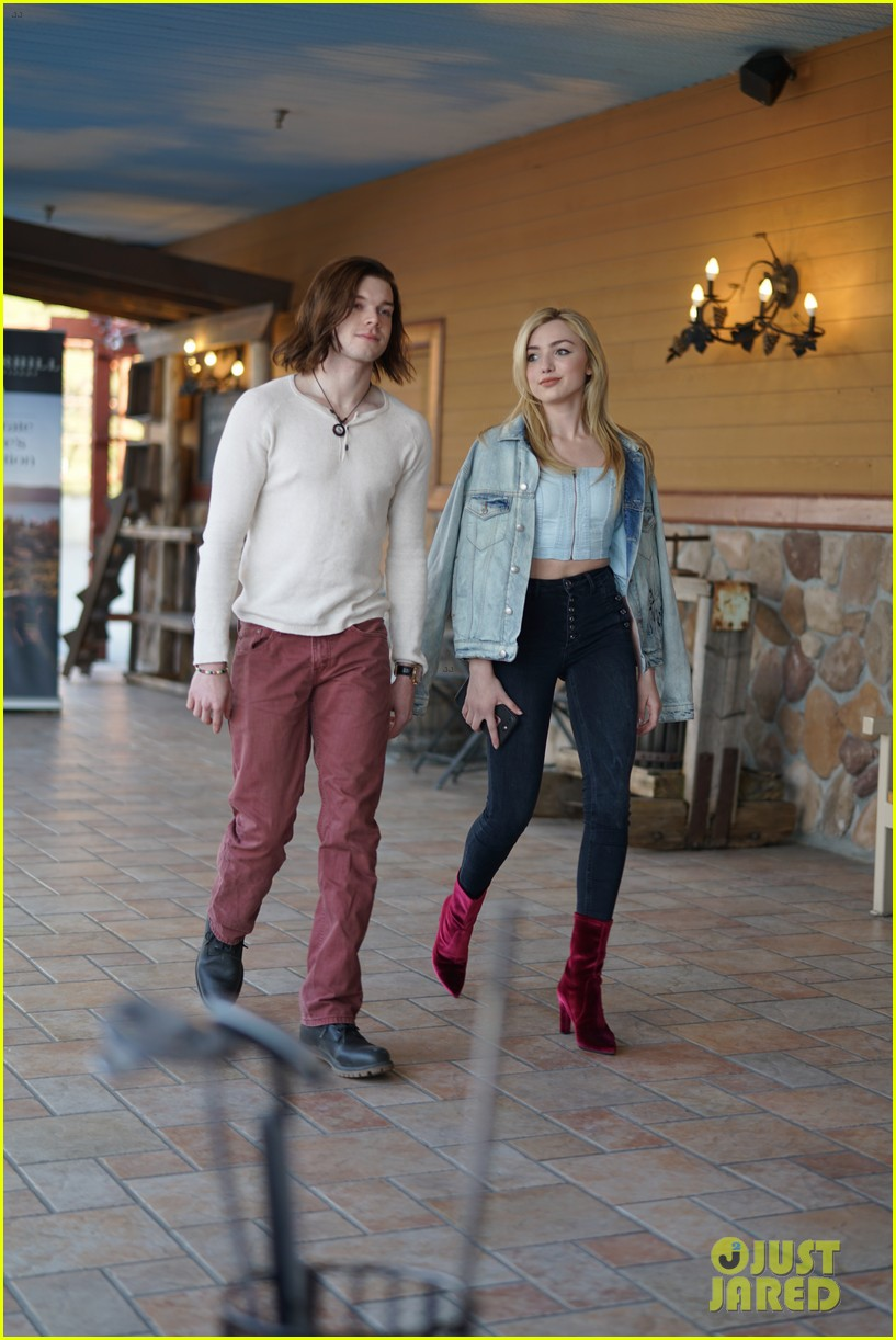 peyton list costar hang offset of their new ya thriller 04
