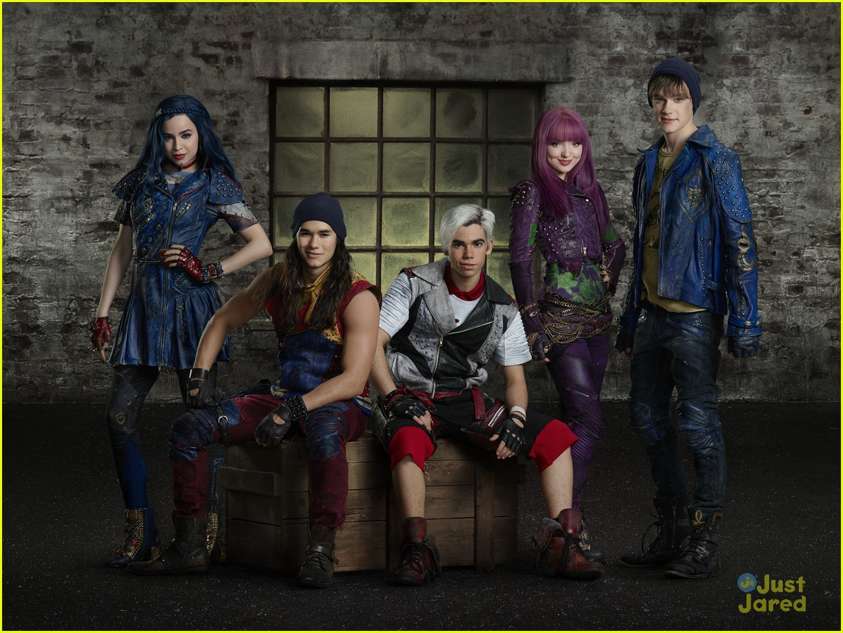 descendants stars spoof carpool karaoke wicked song 05