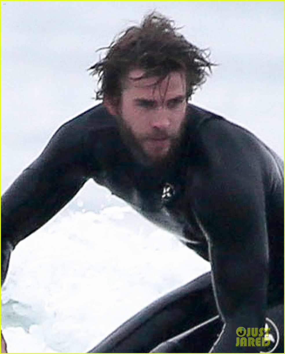 liam hemsworth hits the waves to kick off weekend 03
