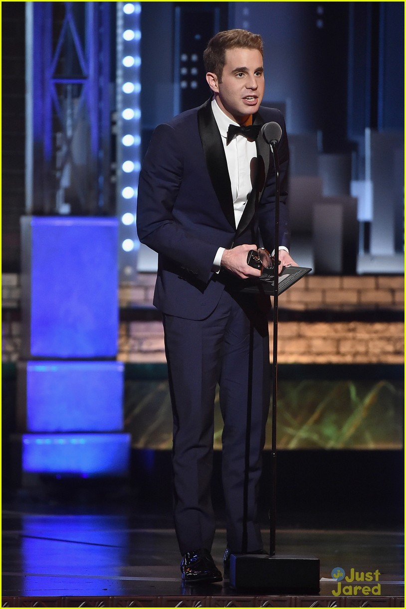 casey cott supports his brother at tony awards ben platt wins best actor 01