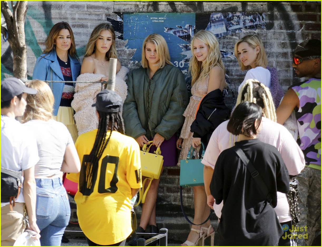 lottie moss sofia richie sistine sarah fashion campaign nyc 05