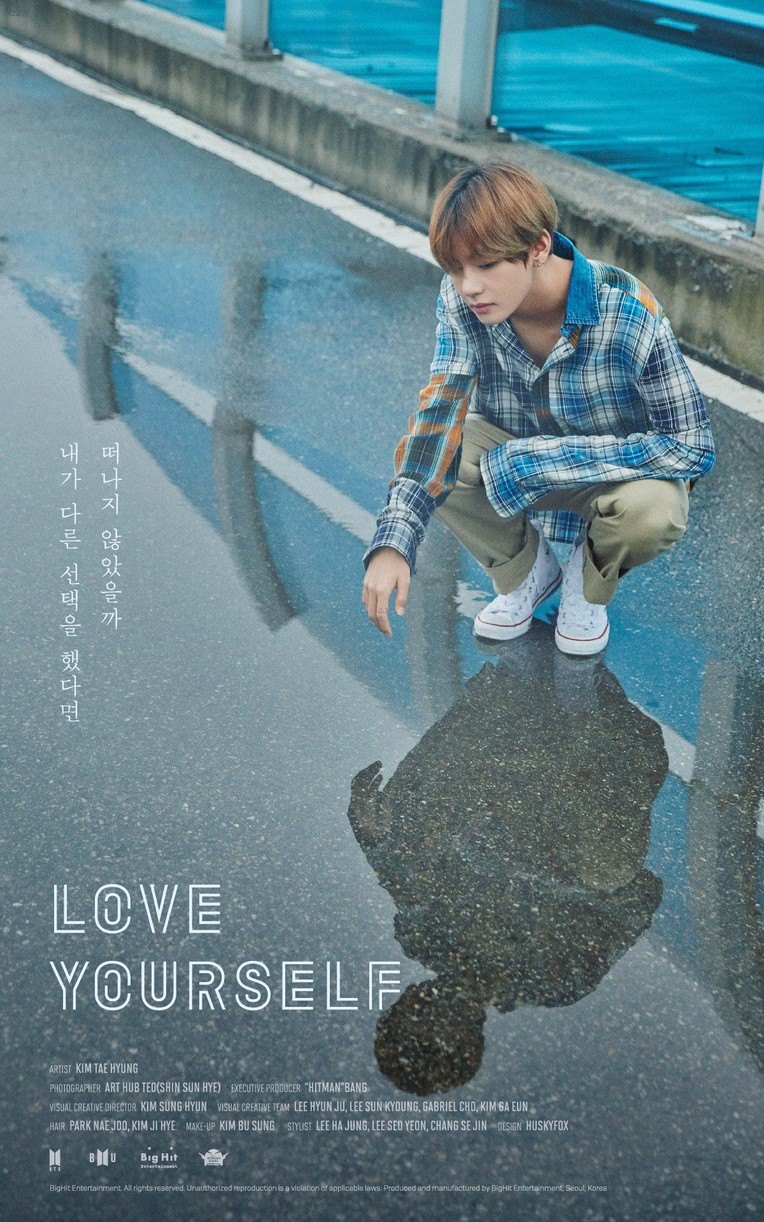 bts love yourself posters new music september 05
