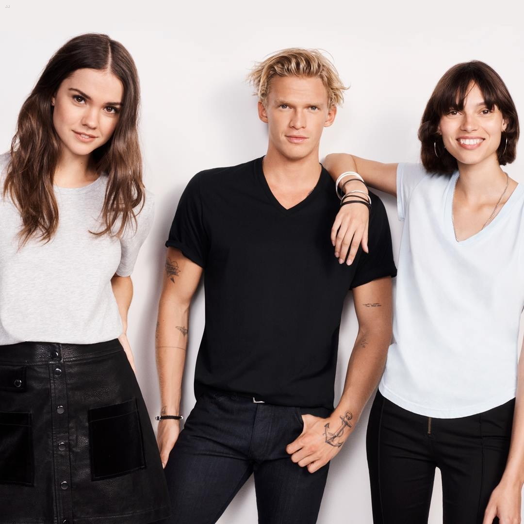 maia mitchell cody simpson bond tees campaign 02